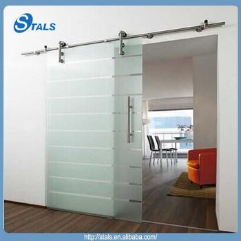 Interior Large Frameless Glass Sliding Doors