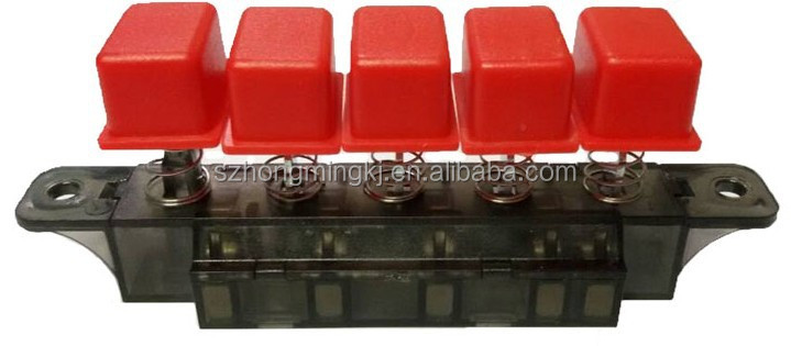 Electrical Fan Piano Keyboard switch 4button/3 Speed