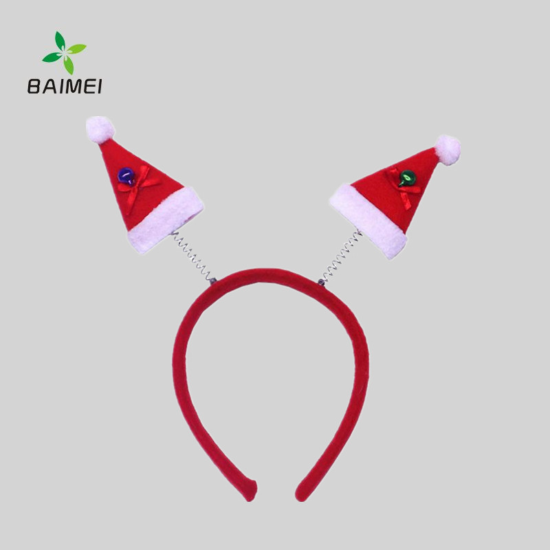 Performance horn hairband beauty Christmas buckle