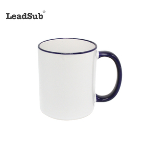 China factory wholesale cheap white blank sublimation ceramic mug