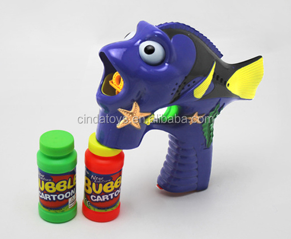 China Supplier For Wholesale Bubble Gun,Children Summer Toys Fish ...