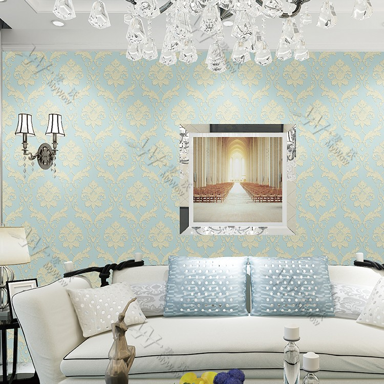 Room Decor Damask Wallpaper Designs India Part 98