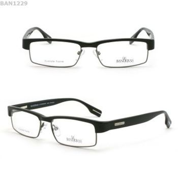 mens designer reading glasses metal frame rim less eye glasses
