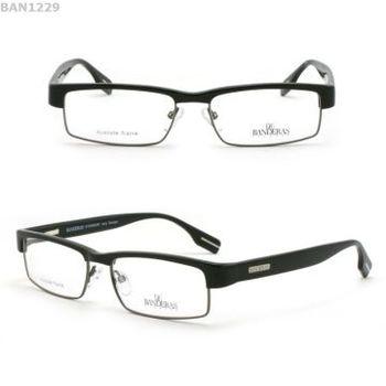 mens designer reading glasses metal frame rim less eye glasses