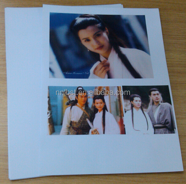 Factory wholesale single or double side Lucky a4 glossy photo paper