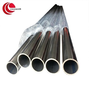 Tianjin satin hairline finish 6mm 316 stainless steel tube