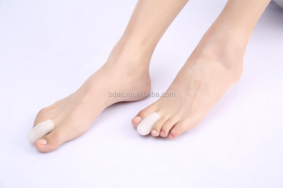 chinese footcare Gel finger tube