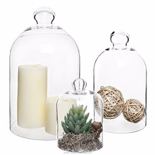 Set von 3 <span class=keywords><strong>Dekorative</strong></span> Klar <span class=keywords><strong>Glas</strong></span> Apothekerflasche Cloche Glasglocken/Pflanze Terrarien/Herz Dome Display