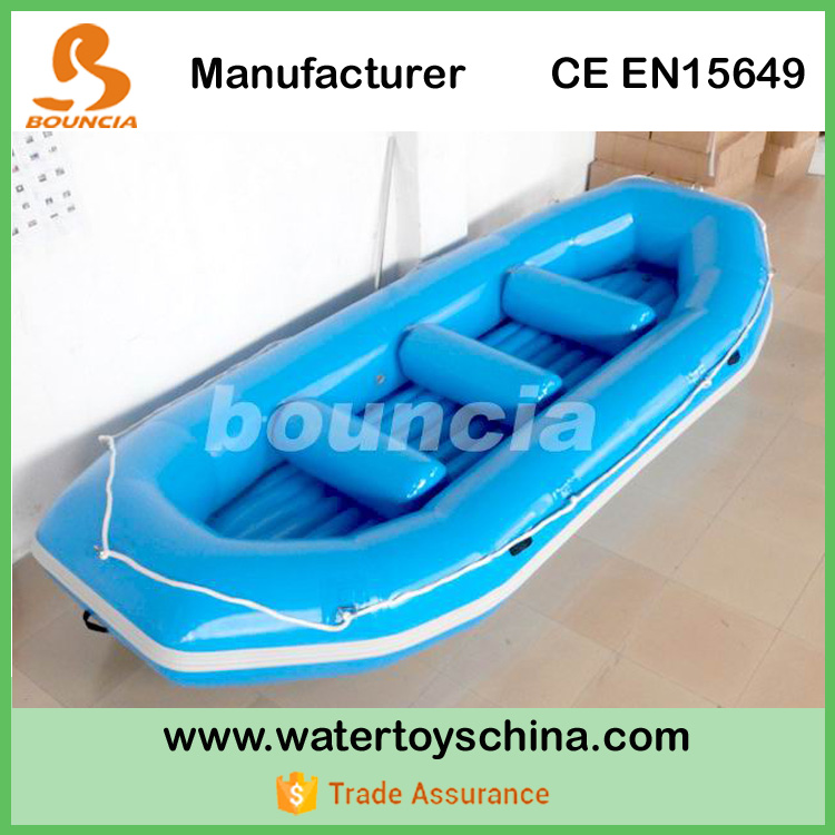 A Yellow Raft In Blue Water Quotes: Blue Color Inflatable River Raft,White Water Raft