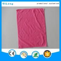 Promotional microfiber yarn solid color home towel, bath towel waffle hand towel
