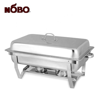 Hottest modern foldable legs chafer serving dishes india stainless steel chaffing dishes for philippines