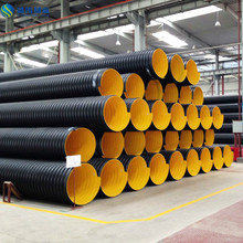 150mm yellow SN8 hdpe corrugated pipe