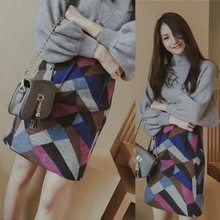 C70713A colorful High Quality Ladies Short Skirt