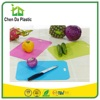 2017 hot sale 39*26 cm pp tpe south america market SGS chopping board quesos for vegetable