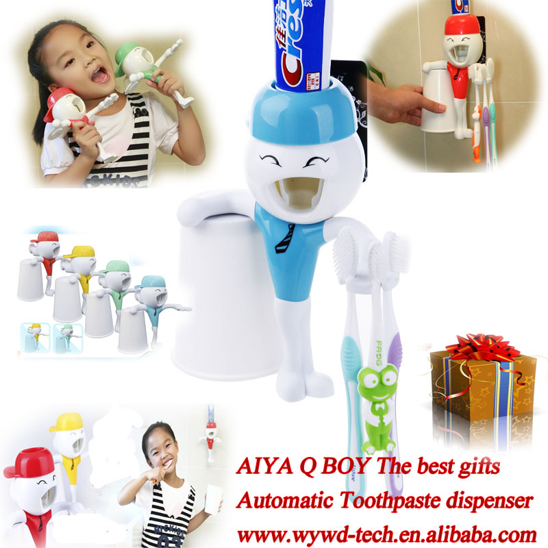 Children toothpaste dispenser new novelty memento gifts