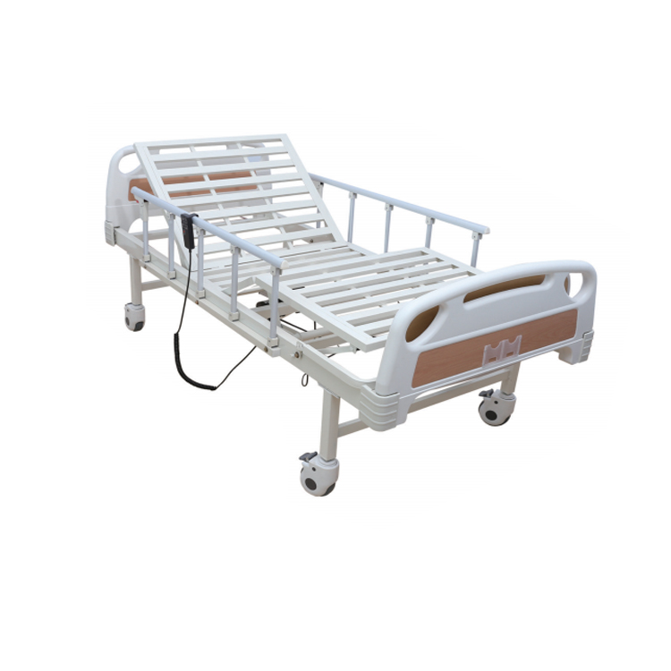 Cheap Folding Railing E05 Steel Square Medical Bed Electric Nursing Bed 2 Function Hospital Bed