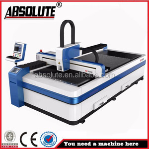 ABSOLUTE brand laser pcb depaneling laser cutting machine for stainless  steel plate