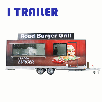 FV-30 FOOD VENDING CART BBQ FOOD VAN BBQ FOOD TRAILER