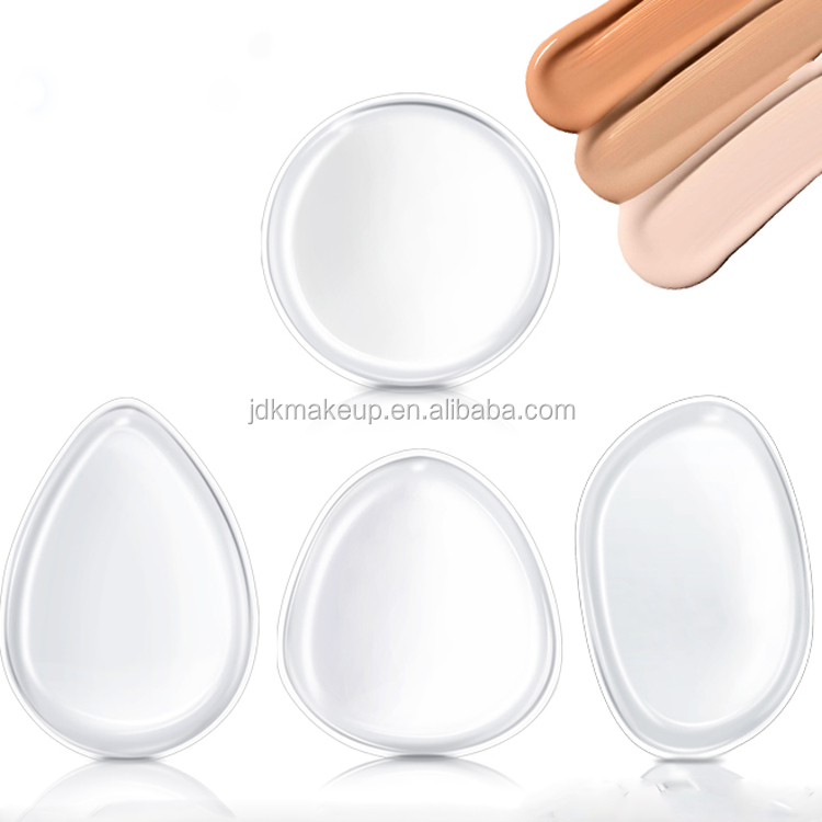 Yousha Silicone Sponge Makeup Face Silicone Makeup Sponge Puff Silisponge For Liquid Foundation Bb Cream Cosmetic Beauty Tools Cosmetic Puff