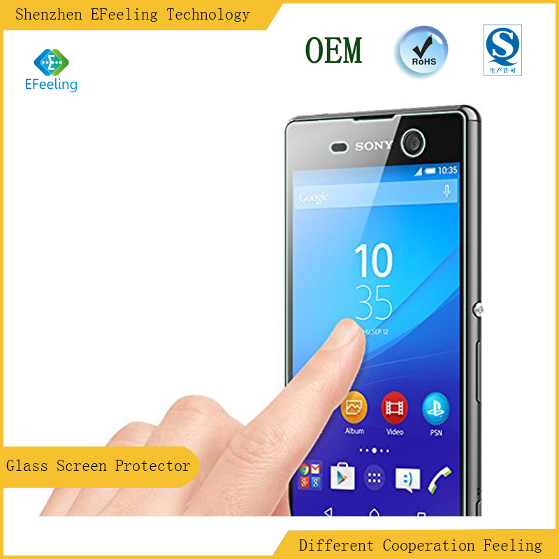 Biggest discount Anti-Shock Tempered Glass Film Screen Protector For Sony Xperia M5