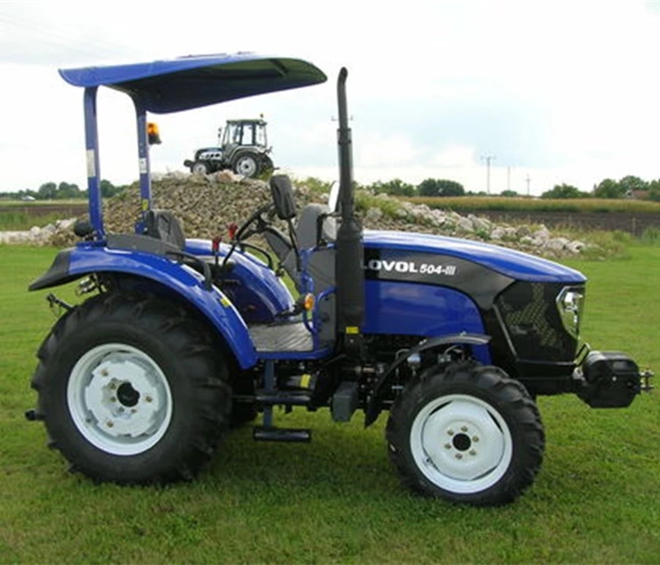 FOTON LOVOL 50HP farming tractor mini diesel tractor price with discount