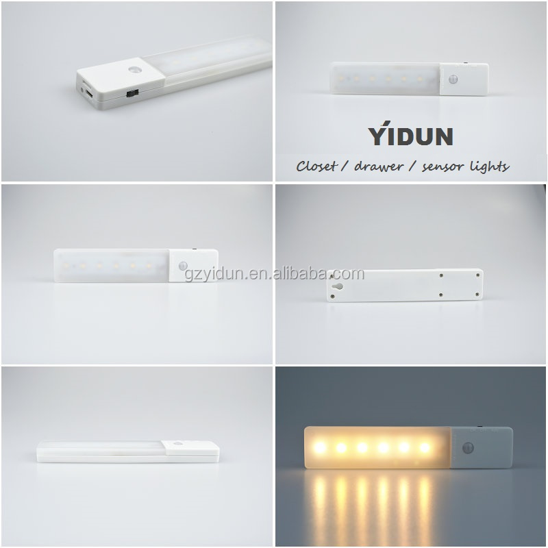 1.5v Small Battery Operated Led Cabinet Light,Body Motion Sensor ...