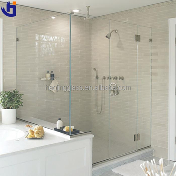 Glass Partition For Bathroom Mm Glass Bathroom Shower Room Price In - Bathroom glass partition price