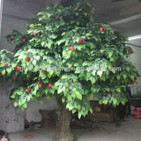 2013 new style beautiful artificial apple tree artificial friut tree