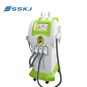 Big discount CE TUV 8 handles imported lamp multifunction elight ipl hair remove machine