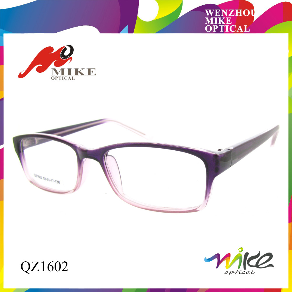 Good quality best selling gradient translucent optical glasses frames, reading glasses