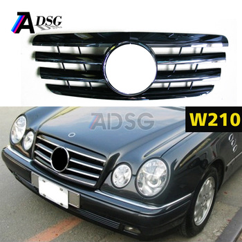 W210 Facelift Amg Style Grille For Mercedes E Class Front Grille - Buy W210  Front Grille,For Mercedes Amg Style Grille,For Mercedes W210 Grille