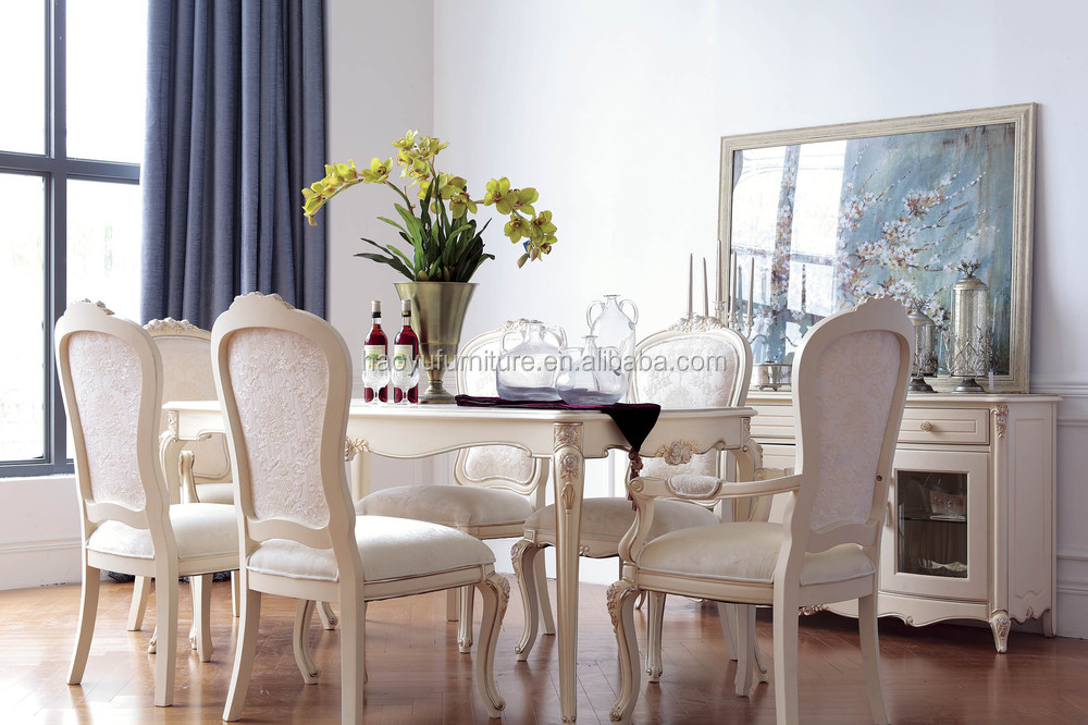 zy04 italian dining room set european dining set antique dining table
