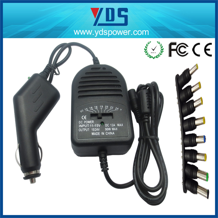 China Supplier Hot Sale 90w Universal Laptop Car Adapter ...