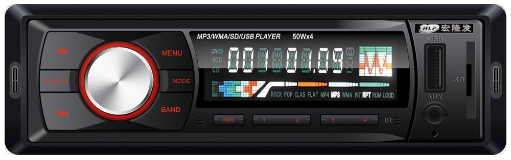 Fixed Cheap car MP3 Player with USB SD AUX, Universal suitable for all cars