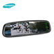 Universal two clips rear view mirror with high brightness reverse cam adjustable parking lines