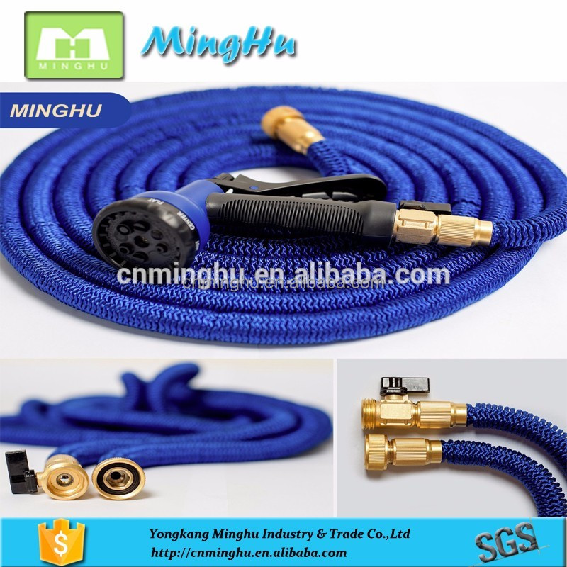 Newest Garden Plastic Shrinking Kink Free Expanding Water Hose