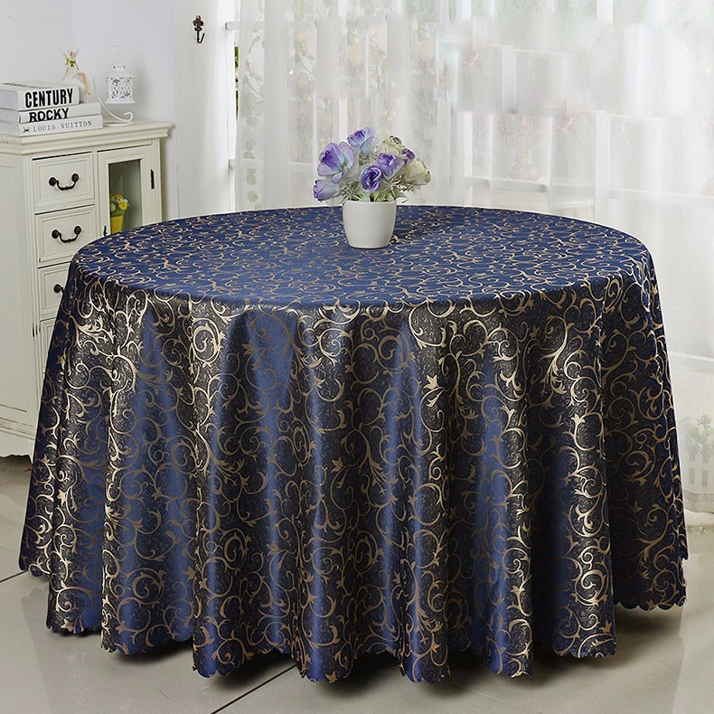 ECONOMICAL plain dyed hotel wedding table cloth