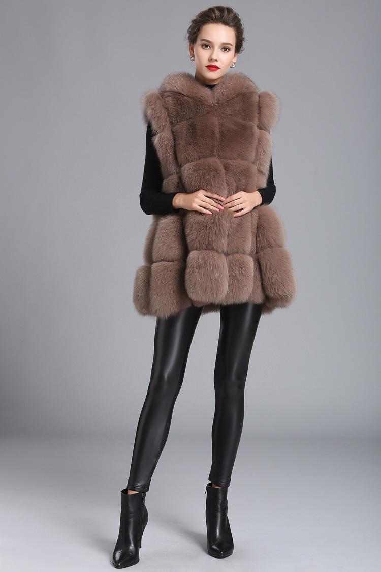 7c4f2aa87 Luxury Faux Fur Vest Coat Women Hooded Vest - Buy Faux Fur Vest,Red Hooded  Vest,Fleece Hooded Vest Product on Alibaba.com