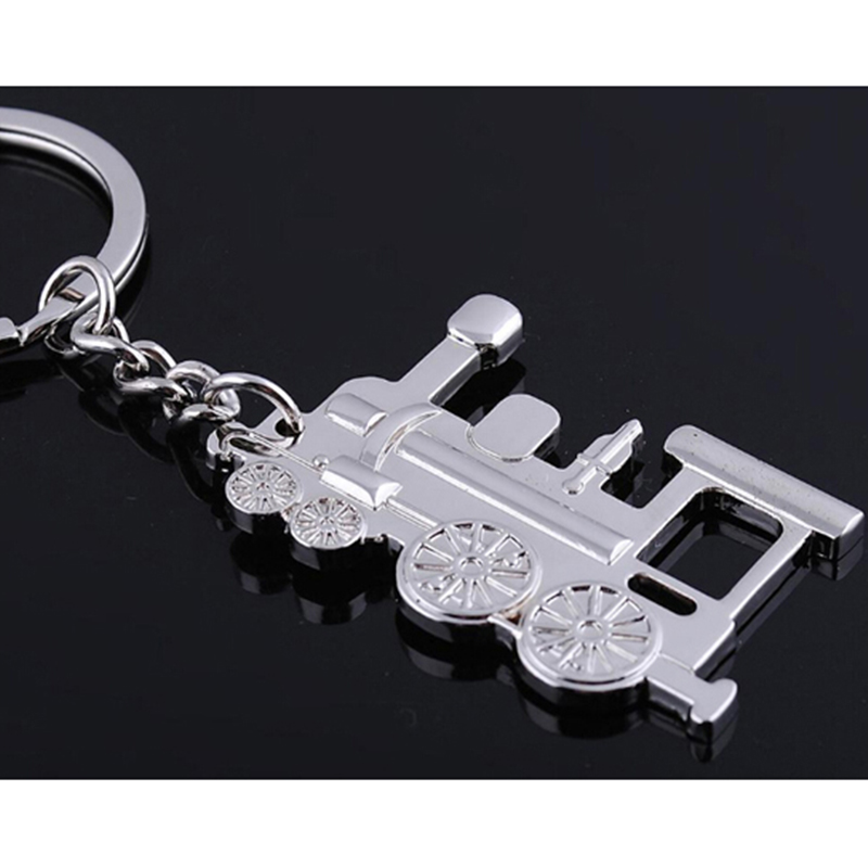 Wholesale vintage old style car shaped keychain