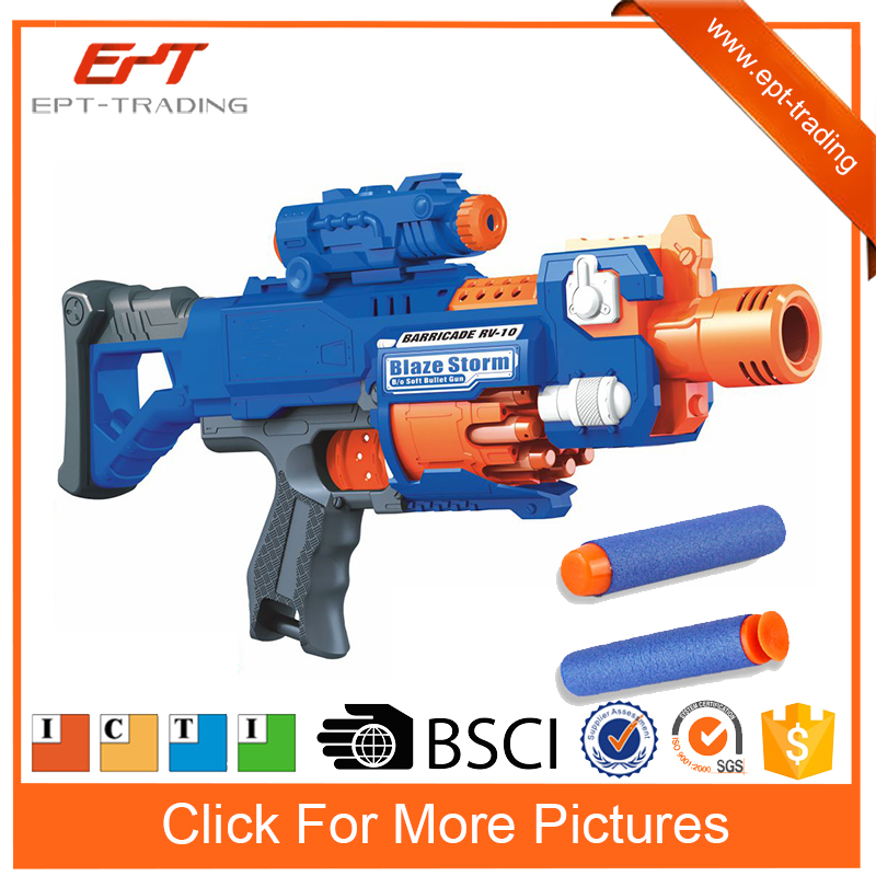 Hot sale electric airsoft foam dart guns small orders children toys