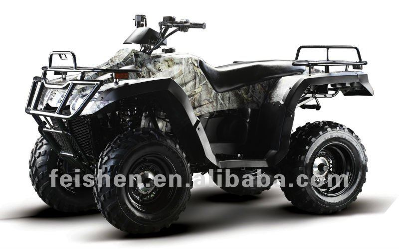 2WD 4WD ATV 300cc 4x4 road legal atv with shaft drive ( FA-D300)