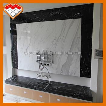 Tv Muur Decoratie.Decoratieve Muur Steen Lcd Tv Wall Unit Ontwerpen Type Multi Panel