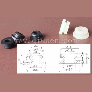 fairleads Rubber cable grommet bushing stops 6 and 7.5mm wires