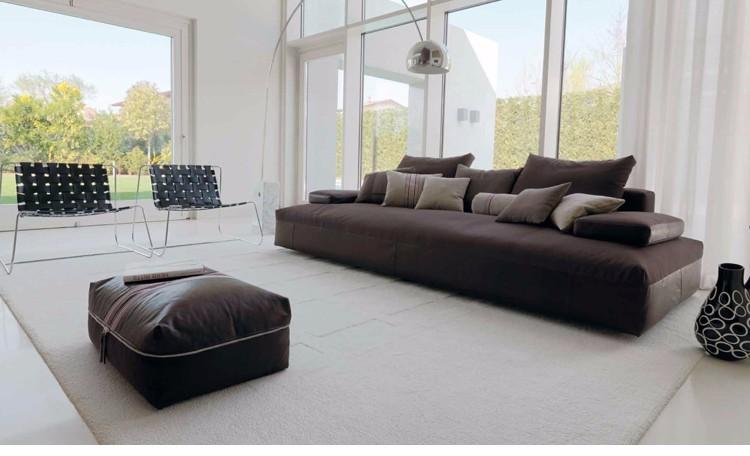 Design moderne italien salon villa bureau meubles de maison Éponge