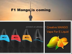 2017 companies that need distributors jomo ecig supplier electronic  ecigarette starter kit F1 Mango