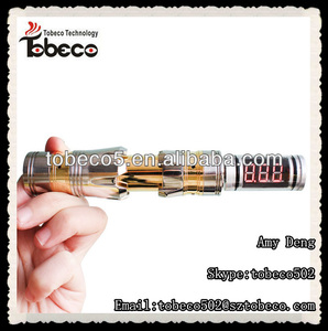 Top sales product in china dna20 mechanical mod with 510 volt meter