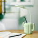 Living Room Wireless Study Reading Pen Holder Table Led Light Touch Control Dimmable Battery Operated Desk Lamp With Pen Holder