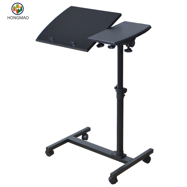 Sit Stand Desk   Adjustable Height Laptop Table For Left Handed, Side Table,