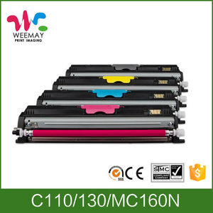 Compatible for OKI C110 C130 C160 printer color toners