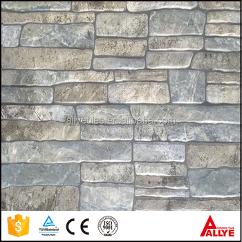China Latest Design Ceramic House Front Wall Tiles Design3d Wall